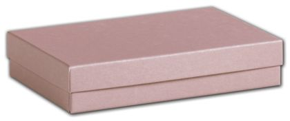 """Rose Gold Jewelry Boxes, 5 7/16 x 3 1/2 x 1"""""""