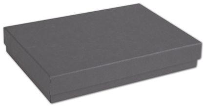 """Slate Grey Jewelry Boxes, 5 1/4 x 3 3/4 x 7/8"""""""