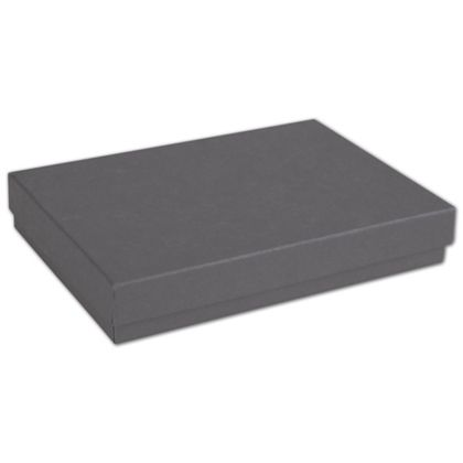 Slate Grey Jewelry Boxes, 5 7/16 x 3 1/2 x 1""