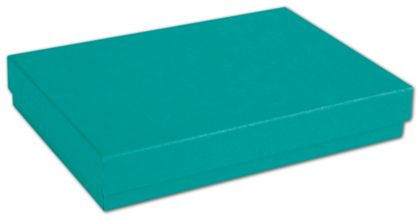 """Tropical Blue Jewelry Boxes, 5 1/4 x 3 3/4 x 7/8"""""""