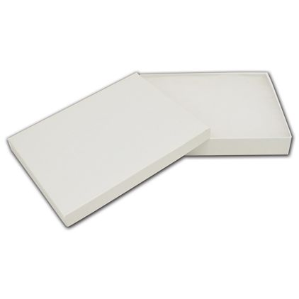 "White Krome Jewelry Boxes, 5 1/4 x 3 3/4 x 7/8"""