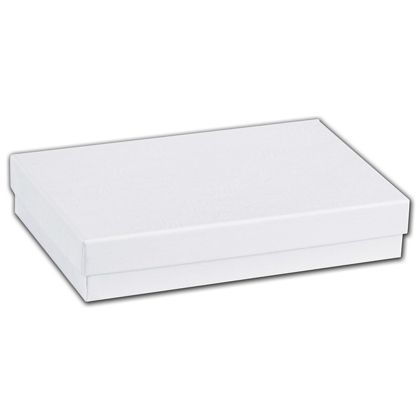 "White Swirl Jewelry Boxes, 5 7/16 x 3 1/2 x 1"""