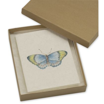 Natural Kraft Jewelry Boxes, 6 x 5 x 1""