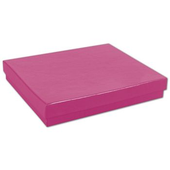 Fuchsia Jewelry Boxes, 6 x 5 x 1""