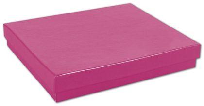 "Fuchsia Jewelry Boxes, 6 x 5 x 1"""
