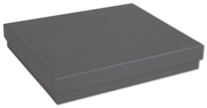 """Slate Grey Jewelry Boxes, 6 x 5 x 1"""""""