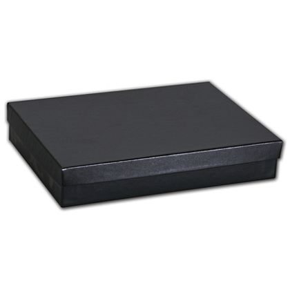 Black Matte Jewelry Boxes, 7 x 5 x 1 1/4""