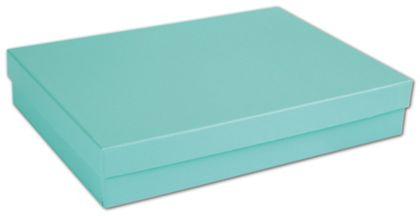 """Aqua Jewel Jewelry Boxes, 7 x 5 x 1 1/4"""""""