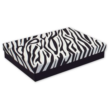 Zebra Jewelry Boxes, 7 x 5 x 1 1/4