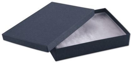 Navy Jewelry Boxes, 7 x 5 x 1 1/4""