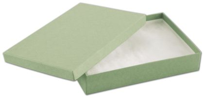 Light Green Jewelry Boxes, 7 x 5 x 1 1/4""