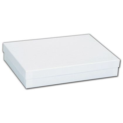 White Krome Jewelry Boxes, 7 x 5 x 1 1/4""