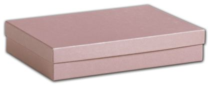 Rose Gold Jewelry Boxes, 7 x 5 x 1 1/4""
