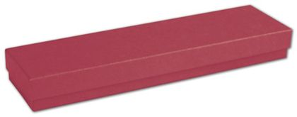 """Red Jewelry Boxes, 8 x 2 x 7/8"""""""