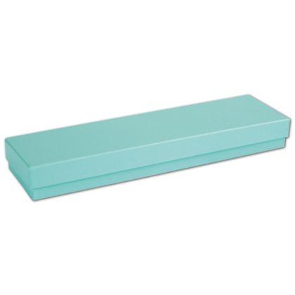 """Aqua Jewel Jewelry Boxes, 8 x 2 x 7/8"""""""
