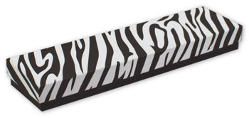 Zebra Jewelry Boxes, 8 x 2 x 7/8