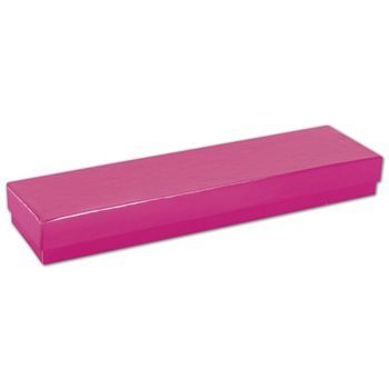 Fuchsia Jewelry Boxes, 8 x 2 x 7/8