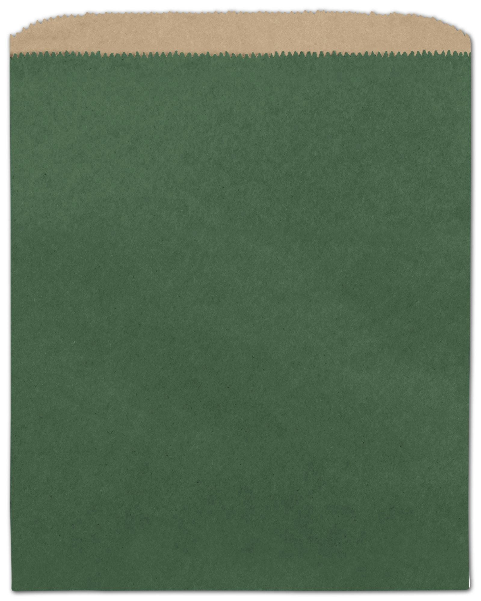 forest green color on kraft merchandise bags 8 1 2 x 11 bags bows