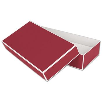 Bridge Red Jewelry Boxes, 9 x 4 1/2 x 2