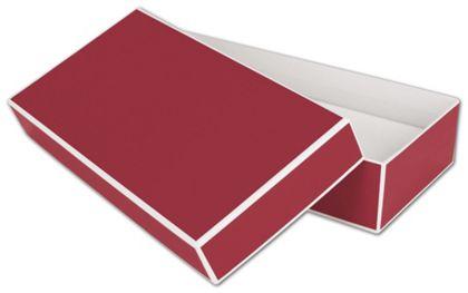 """Bridge Red Jewelry Boxes, 9 x 4 1/2 x 2"""""""