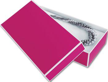 Fillmore Fuchsia Jewelry Boxes, 9 x 4 1/2 x 2