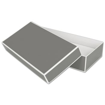 Slate Grey Jewelry Boxes, 9 x 4 1/2 x 2