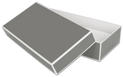 Slate Grey Jewelry Boxes, 9 x 4 1/2 x 2""