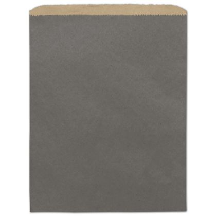 Storm Grey Color-on-Kraft Merchandise Bags, 12 x 15""