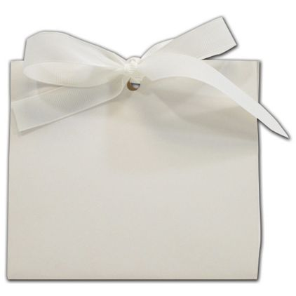 White Soft Touch Purse Style Gift Card Holders, Medium