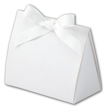 Soft Touch White Purse Style Gift Card Holders