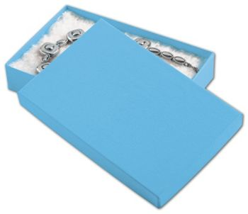 Blue Jazz Eco Tone Jewelry Boxes, 5 7/16 x 3 1/2 x 1