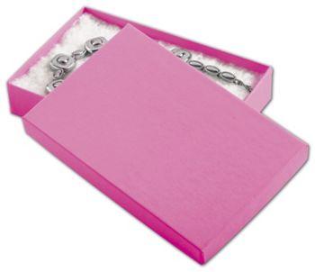 Calypso Pink Eco Tone Jewelry Boxes, 5 7/16 x 3 1/2 x 1