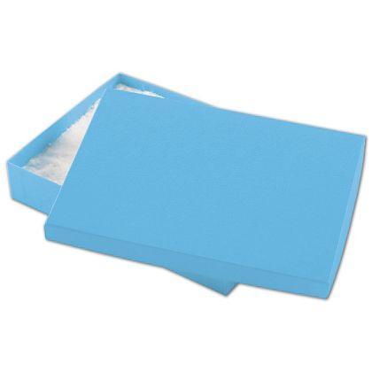 """Blue Jazz Eco Tone Jewelry Boxes, 7 x 5 x 1 1/4"""""""