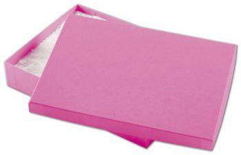 Calypso Pink Eco Tone Jewelry Boxes, 7 x 5 x 1 1/4