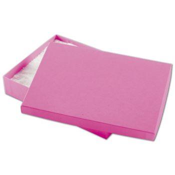 """Calypso Pink Eco Tone Jewelry Boxes, 7 x 5 x 1 1/4"""""""
