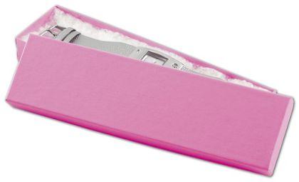 """Calypso Pink Eco Tone Jewelry Boxes, 8 x 2 x 7/8"""""""