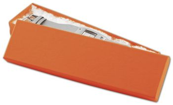 Orange Tango Eco Tone Jewelry Boxes, 8 x 2 x 7/8