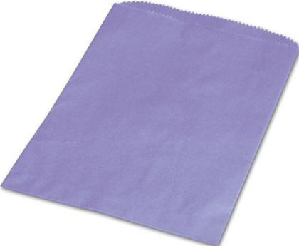 "Purple Paper Merchandise Bags, 6 1/4 x 9 1/4"""