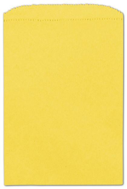 "Sunbrite Paper Merchandise Bags, 6 1/4 x 9 1/4"""