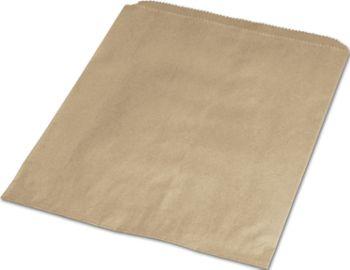 Kraft Paper Merchandise Bags, 6 1/4 x 9 1/4