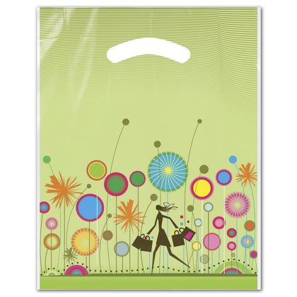 "Celebration Merchandise Bags, 9 x 11 1/2"" + 2"" BG"