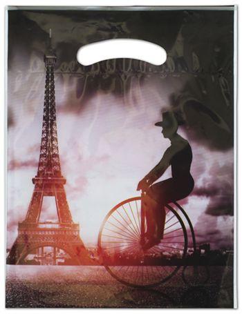 Eiffel Merchandise Bags, 9 x 11 1/2