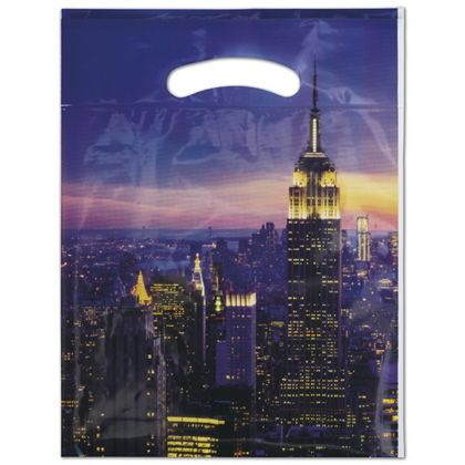 "Empire Merchandise Bags, 9 x 11 1/2"" + 2"" Bottom Gusset"