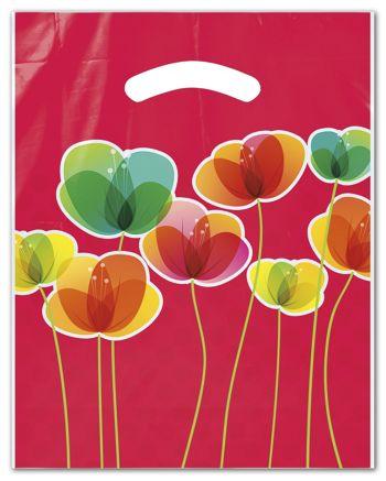 Flora Merchandise Bags, 9 x 11 1/2
