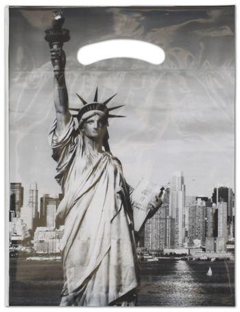 Liberty Merchandise Bags, 9 x 11 1/2