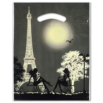 "Paris Merchandise Bags, 9 x 11 1/2"" + 2"" Bottom Gusset"