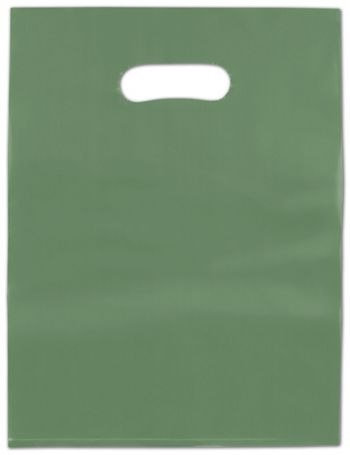 Hunter Frosted High Density Merchandise Bags, 9 x 12