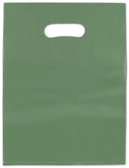 Hunter Frosted High Density Merchandise Bags, 9 x 12""