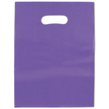 Grape Frosted High Density Merchandise Bags, 9 x 12""