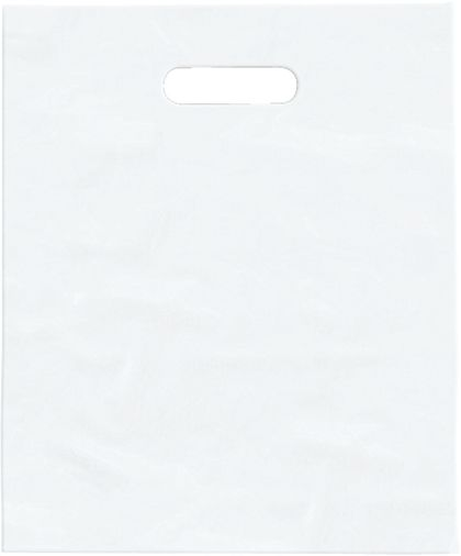 Clear Frosted High Density Merchandise Bags, 9 x 12""